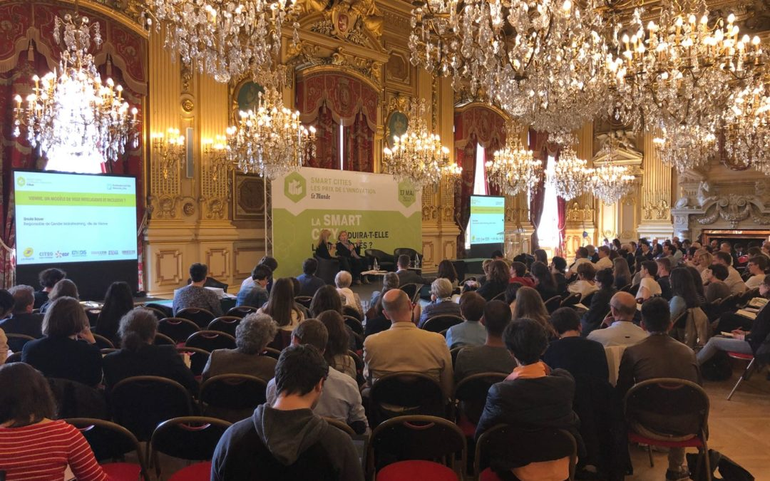 """""""Will the smart city reduce the disparities?"""" For us the answer is """"YES"""" and we explained why during this conference organized by Le Monde"""