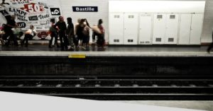 RATP metro in Paris audio beacons Okeenea