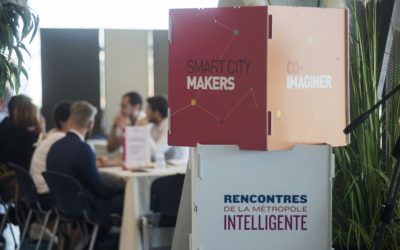 """Sylvain Denoncin presents OKEENEA vision and ambition during the """"Better live together – When smartcity recreates the social links"""" conference #SmartCity #Mobility"""