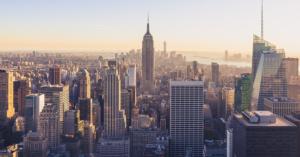 New York City skyline Okeenea