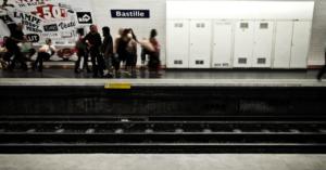 metro station in Paris equipped with Okeenea audio beacon