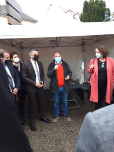 Sylvain Denoncin, nuestro presidente, presenta aBeacon y AMY con Benjamin Charles de la RATP